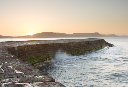 The Cobb in Lyme Regis